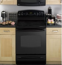 "GE Profile™ 30"" Free-Standing Electric Range with Warming Drawer"