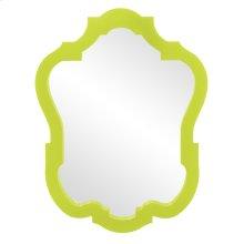 Asbury Mirror - Glossy Green