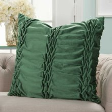 "Life Styles L0066 Emerald 22"" X 22"" Throw Pillows"