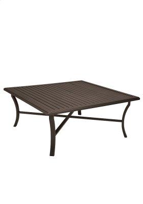 """Banchetto 66"""" Square KD Dining Umbrella Table"""