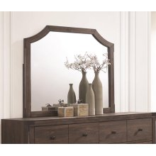 Richmond Rustic Dark Grey Oak Mirror