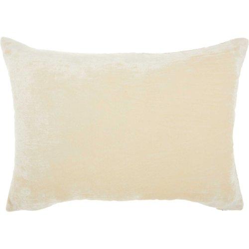 "Life Styles Hr020 Ivory 14"" X 20"" Throw Pillows"