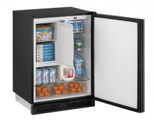 "1000 Series 24"" Refrigerator/freezer With Integrated Solid Finish and Field Reversible Door Swing"