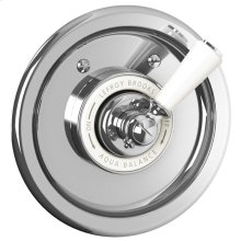 White lever archipelago pressure balance mixing valve trim only, to suit M1-4100 rough