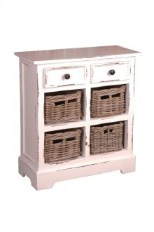 Sunset Trading Cottage Storage Rack with Baskets - Sunset Trading