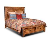 HH-4365 Bedroom  King Bed  Storage Drawers