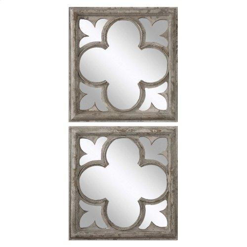 Vellauni Square Mirrors, S/2