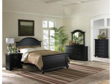 BP800KHB Brook Black Headboard