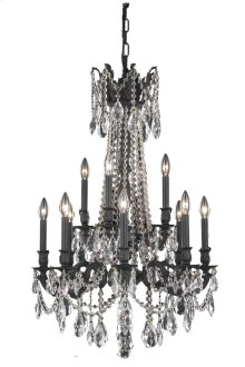 8212 Rosalia Collection Hanging Fixture Dark Bronze Finish