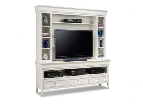 "Monticello 74"" HDTV Cabinet with Hutch"