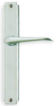 Modern Narrow Plate Lever Latchset in (Modern Narrow Plate Lever Latchset - Solid Brass)