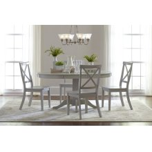 Everyday Classics Round To Oval Dining Table Top - Linen