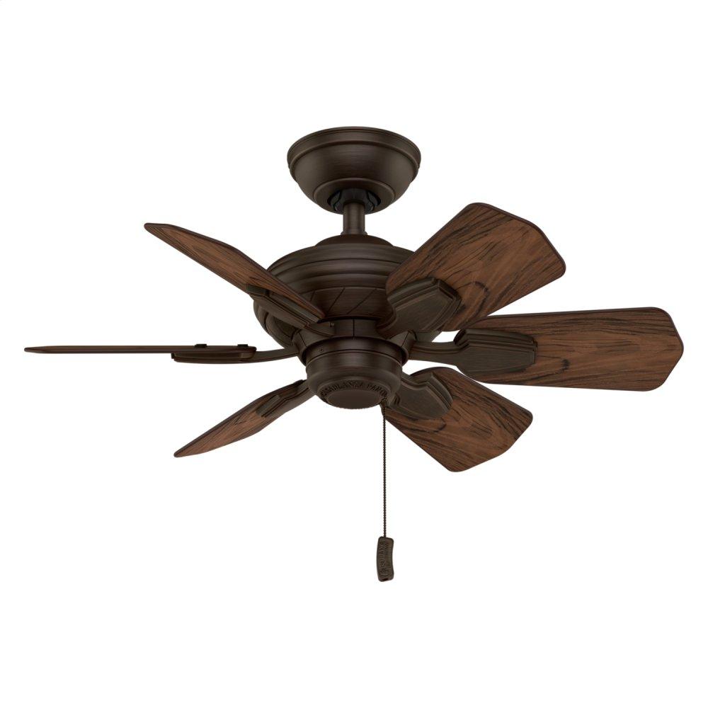 Wailea Outdoor 31 inch Ceiling Fan  BRUSHED COCOA