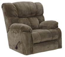 Chaise Rocker Recliner - Taupe