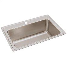 """Elkay Lustertone Classic Stainless Steel 33"""" x 22"""" x 11-5/8"""", Single Bowl Drop-in Sink"""