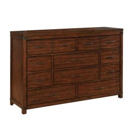 Artesia Dark Cocoa Ten-drawer Dresser