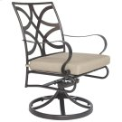 Swivel Rocker Dining Arm Chair Product Image