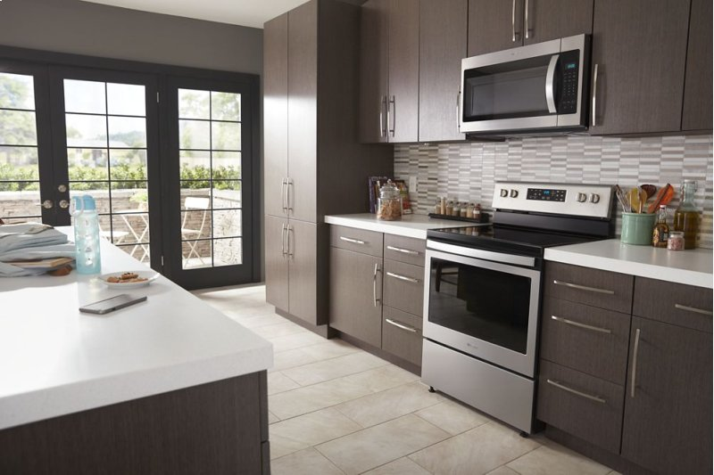 Microwave Hood Combination With Electronic Touch Controls