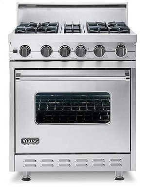 "Used 30"" Open Burner Range - VGSC (30"" wide range with four burners, single oven)"