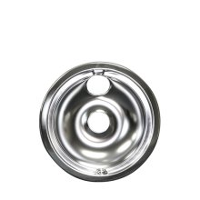 Smart Choice 8'' Chrome Drip Bowl