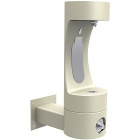 Elkay Outdoor ezH2O Bottle Filling Station Wall Mount, Non-Filtered Non-Refrigerated Freeze Resistant Beige