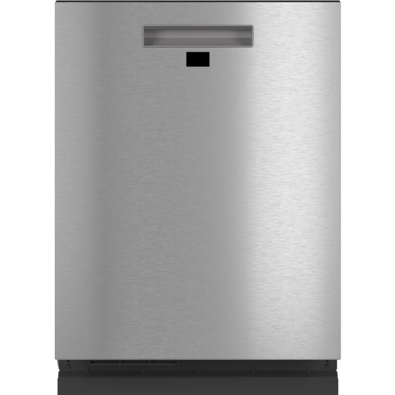 Caf(eback) Smart Stainless Steel Interior Dishwasher with Sanitize and Ultra Wash & Dual Convection Ultra Dry in Platinum Glass