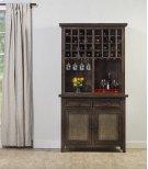 Tuscan Retreat® Hutch With Wine Rack - Mocha Product Image