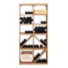 Apex 6' Bottle & Case Diamond Bin Combo Modular Wine Rack - OVERSTOCK