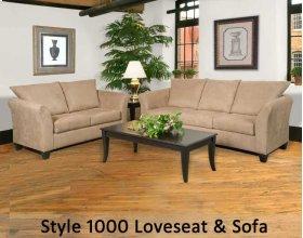 Sienna Chocolate 1000LS - 1000 Loveseat