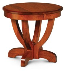 "Brookfield Round End Table, Brookfield End Table, 30"" dia. X 30""h"