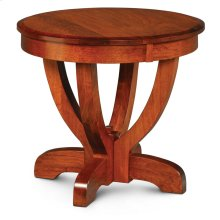 "Brookfield Round End Table, Brookfield End Table, 24"" dia. X 22""h"