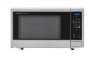 1.8 cu. ft. 1100W Sharp Stainless Steel Countertop Microwave (SMC1842CS) Product Image