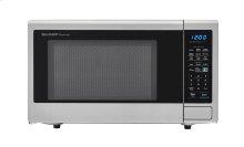 1.8 cu. ft. 1100W Sharp Stainless Steel Countertop Microwave (SMC1842CS)