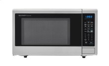 1.8 cu. ft. 1100W Sharp Stainless Steel Countertop Microwave