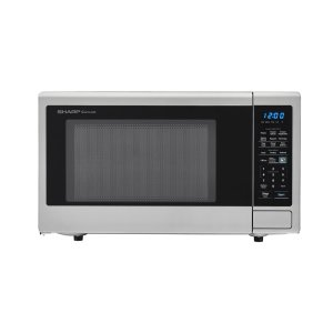 Sharp Appliances1.8 cu. ft. 1100W Sharp Stainless Steel Countertop Microwave