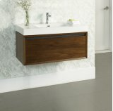 "m4 36x18"" Wall Mount Vanity - Natural Walnut Product Image"
