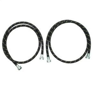 Amana5' Nylon Braided Washer Fill Hose Kit