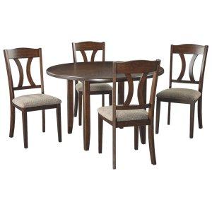 Ashley FurnitureSIGNATURE DESIGN BY ASHLERound DRM Table Set (5/CN)
