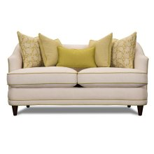 Cream Loveseat