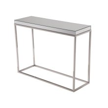 console table 42*14*32in.in clear mirror