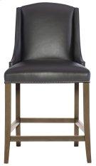 Slope Leather Bar Stool in Smoke Product Image