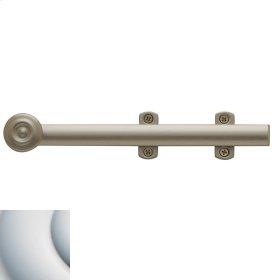 Satin Chrome Decorative Heavy Duty Surface Bolt