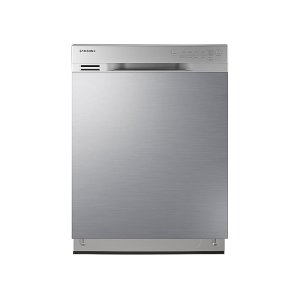 Front Control Dishwasher with Stainless Steel Interior -