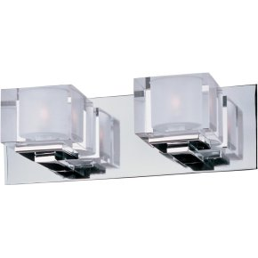 Cubic 2-Light Bath Vanity