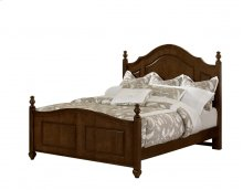 "Poster Bed (queen) 64.5""W x 58""H;"