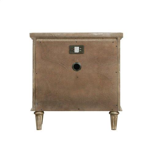 Emerald Home Interlude 2 Drawer Nightstand Sandstone B560-04