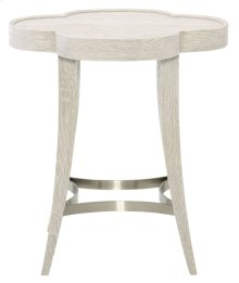 Domaine Blanc Chairside Table in Domaine Blanc Dove White