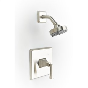 Satin Nickel Hudson (Series 14) Shower Trim