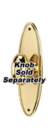 Escutcheon A1225-3 - Polished Brass