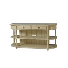 Provenance Entertainment Console Table - Linen